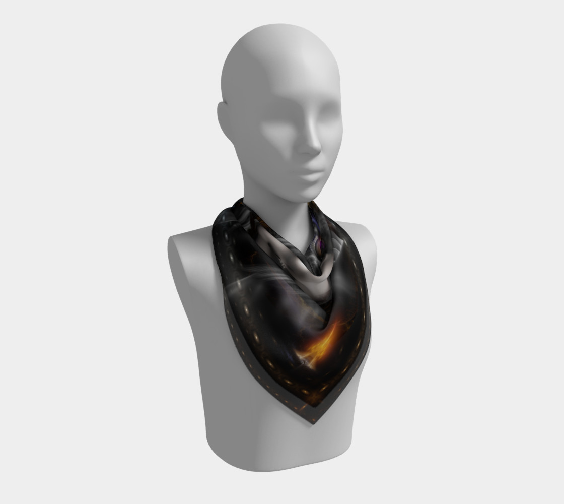 Thinosia Queen Of Armageddon Square Scarf LG preview #2