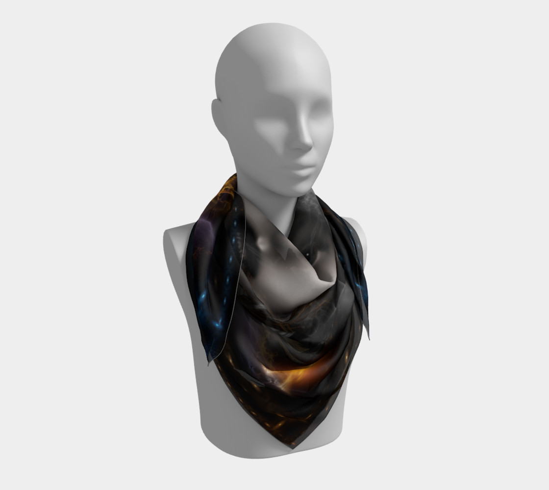 Thinosia Queen Of Armageddon Square Scarf LG preview #3