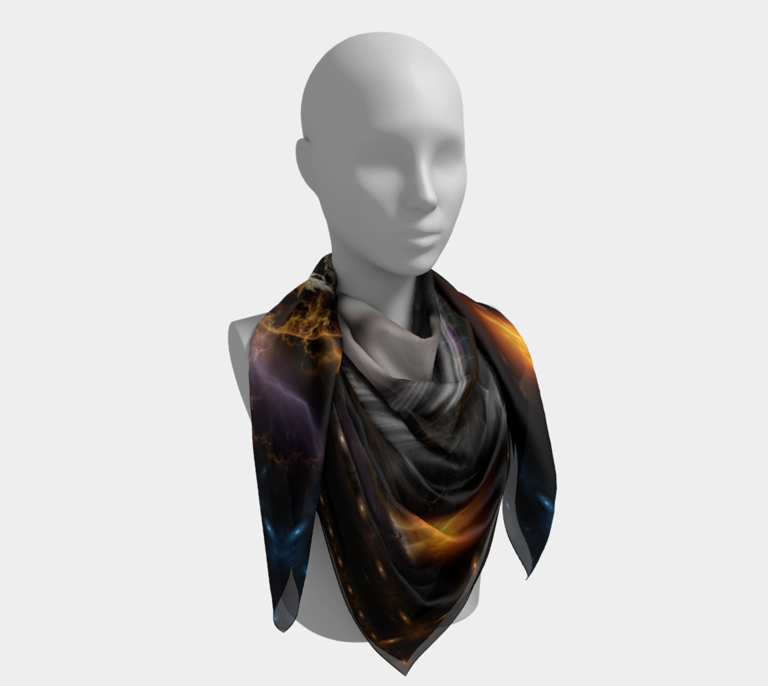 Thinosia Queen Of Armageddon Square Scarf LG preview #4