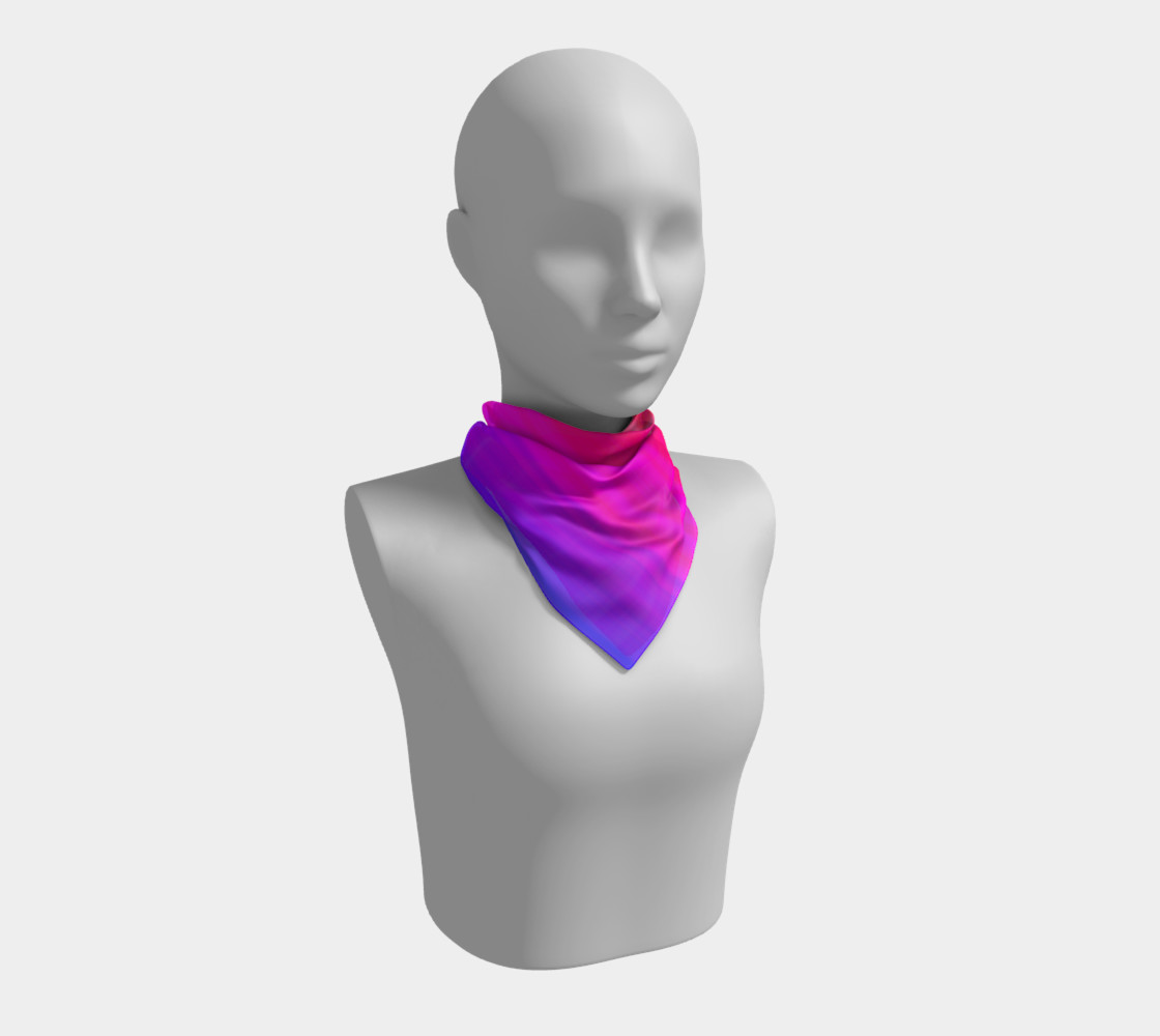 Aperçu de Raise Your Vibe Square Scarf #1