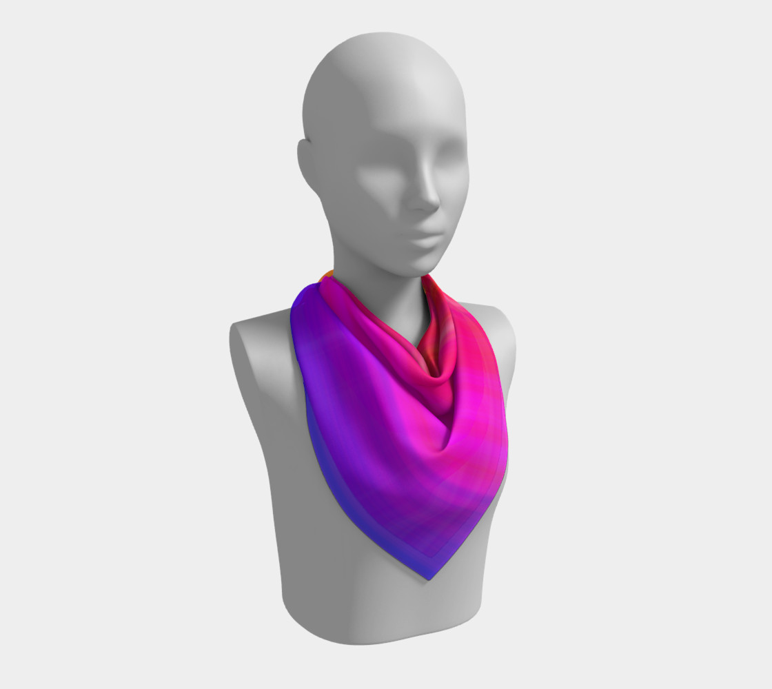 Aperçu de Raise Your Vibe Square Scarf #2