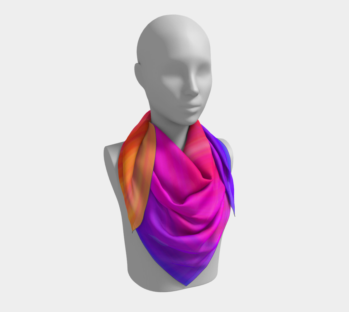 Aperçu de Raise Your Vibe Square Scarf #3