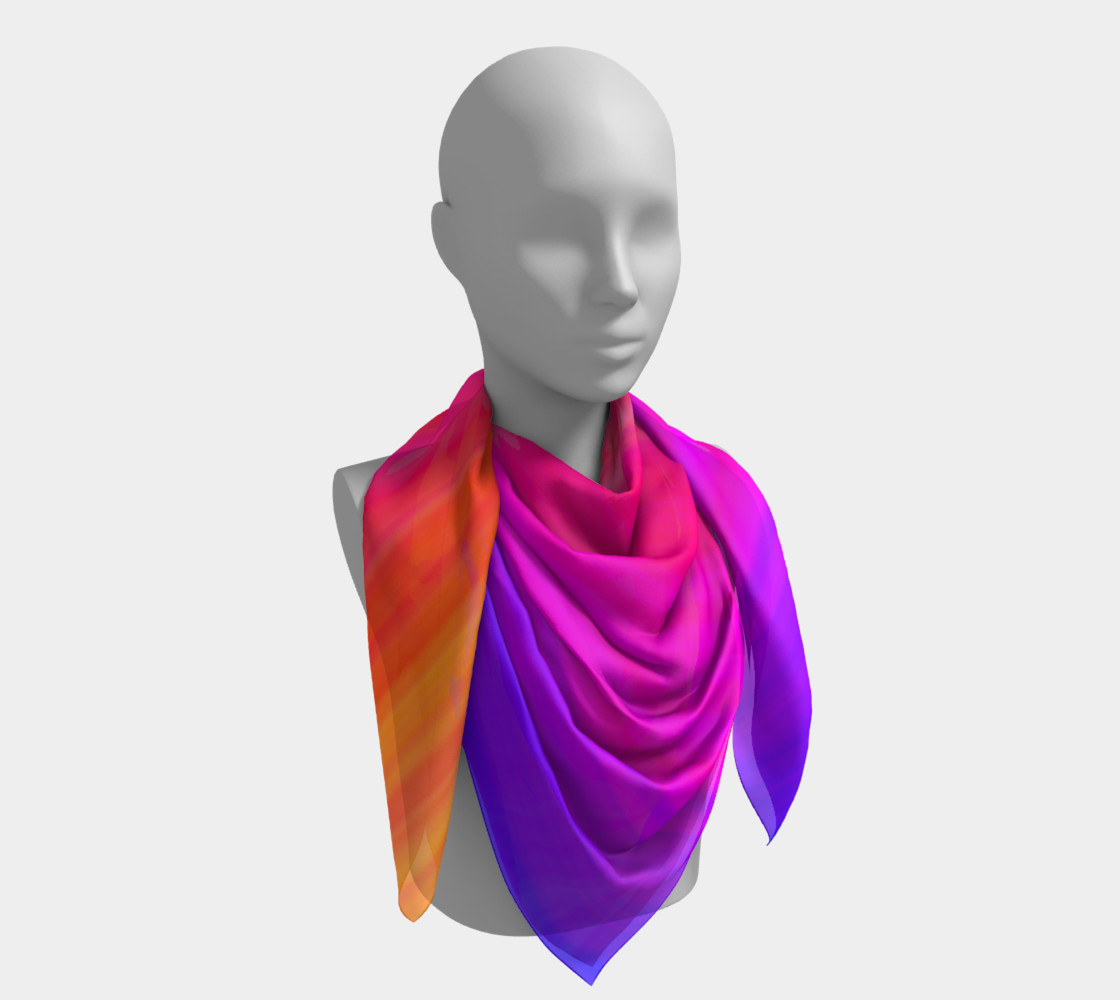 Aperçu de Raise Your Vibe Square Scarf #4