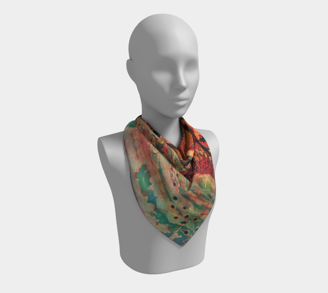 River Sunrise Scarf preview #2