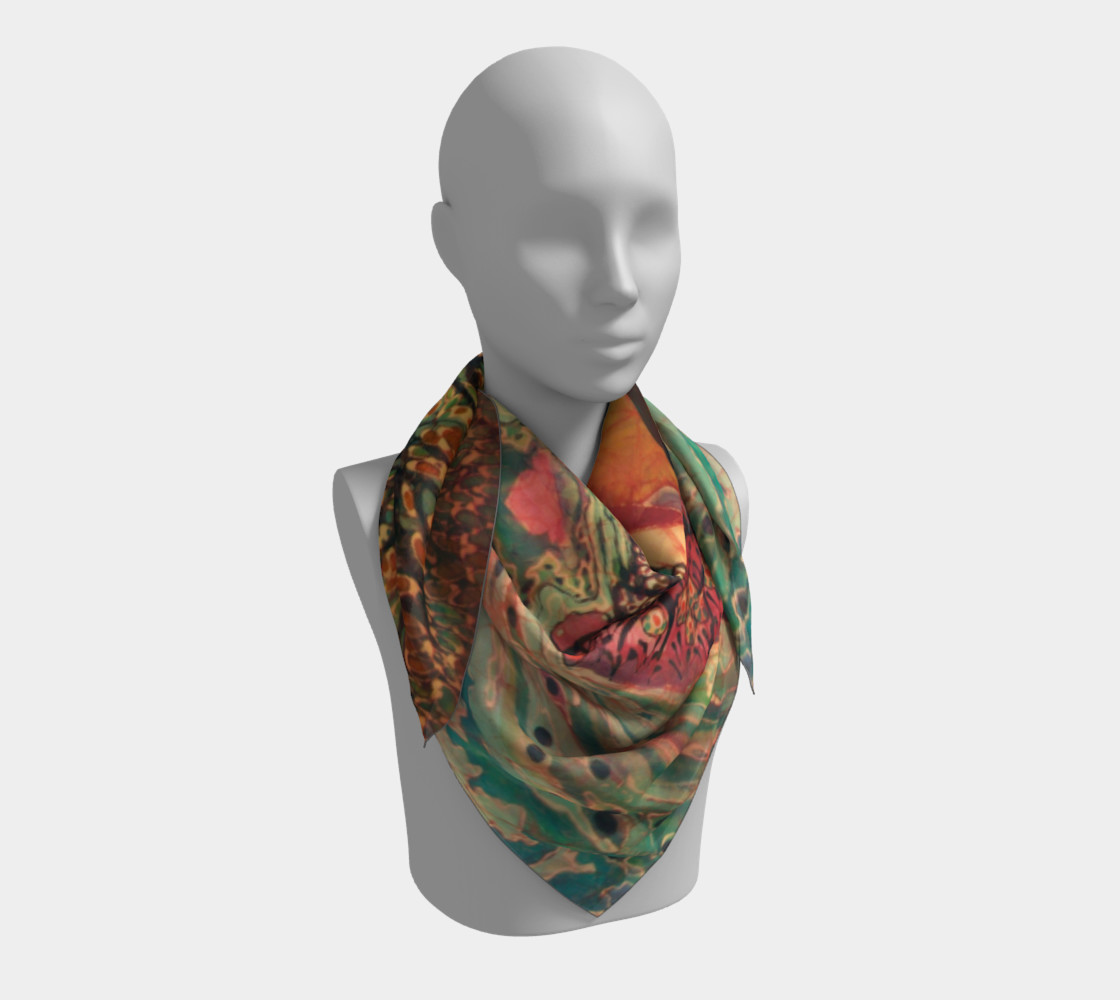 River Sunrise Scarf preview #3
