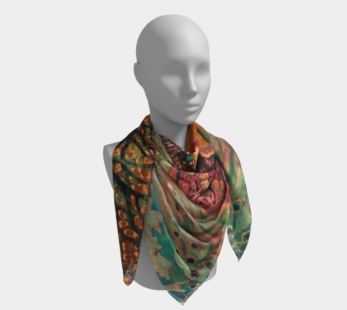 River Sunrise Scarf preview #4
