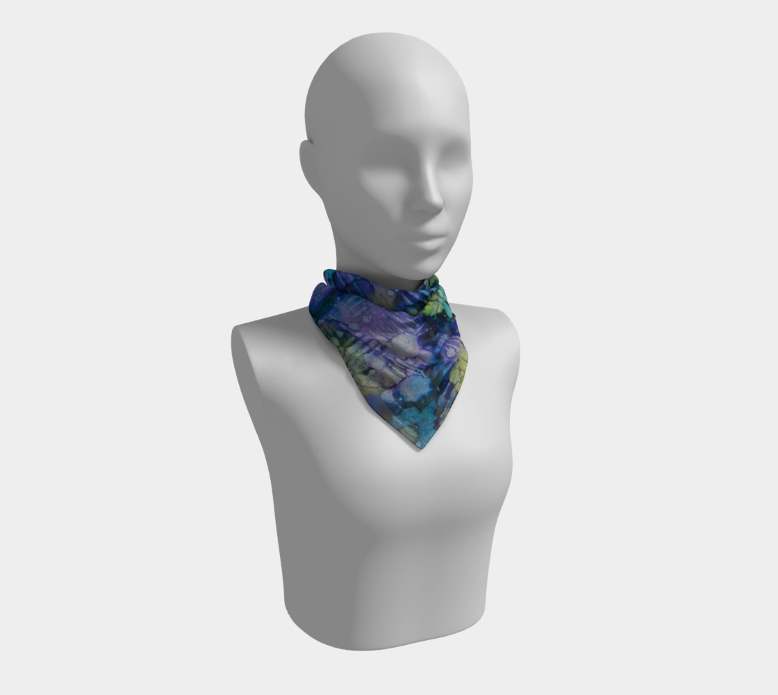 Spring Weave Ink #4 Square Scarf preview #1
