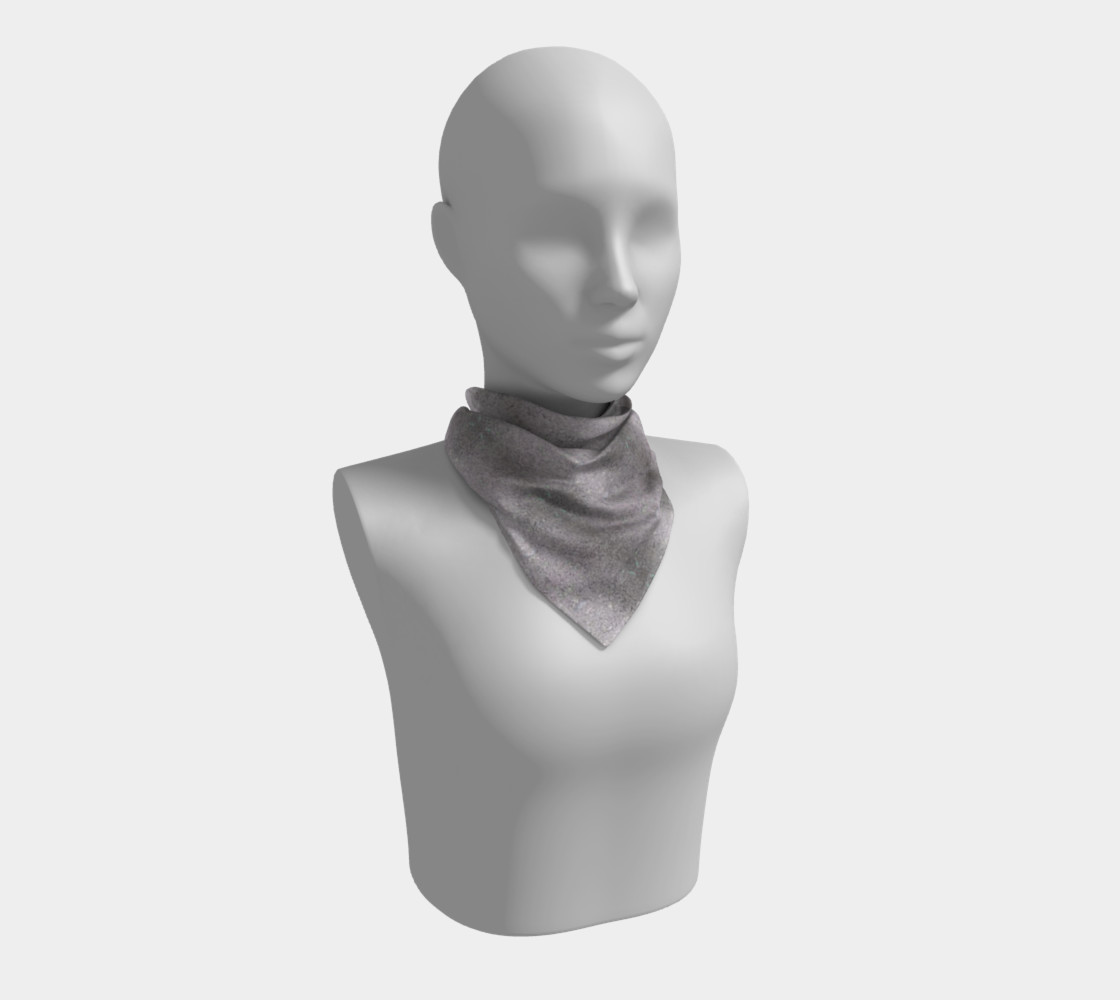 Gray Dirt Specs (26 x 26) Scarf preview #1