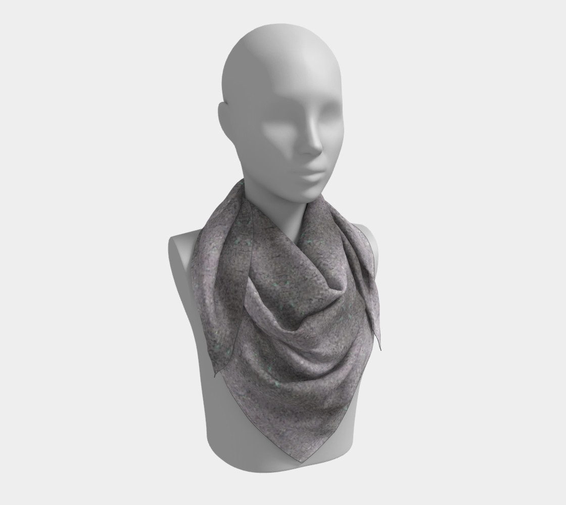 Gray Dirt Specs (26 x 26) Scarf preview #3