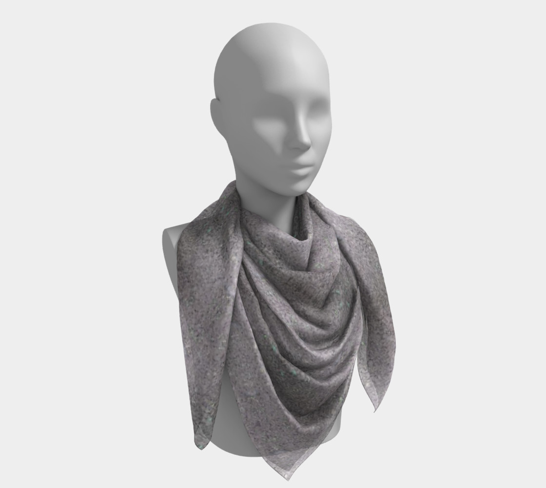 Gray Dirt Specs (26 x 26) Scarf preview #4
