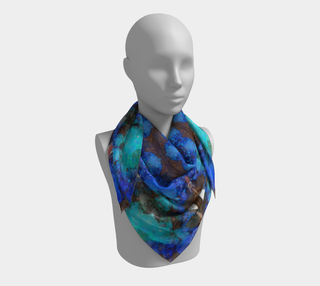 Boulder Opal Square Scarf preview #3
