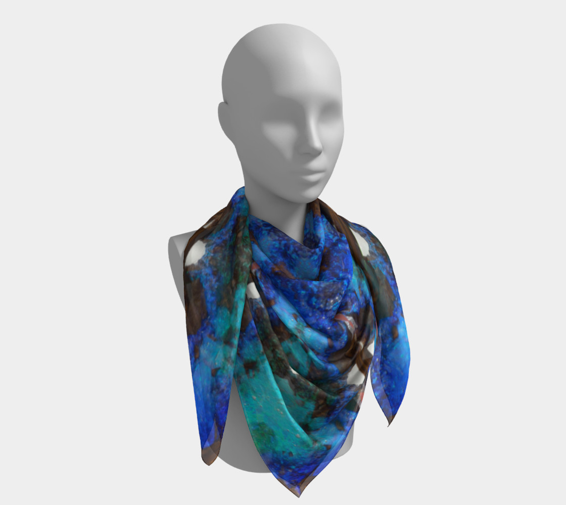 Boulder Opal Square Scarf preview #4