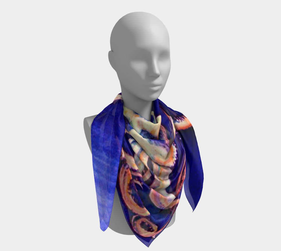 Translucent Squid Scarf Miniature #5