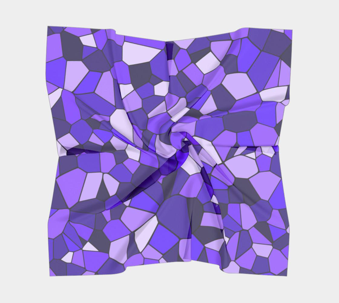 Aperçu de Purple Monochrome Geometric Mosaic Pattern #5