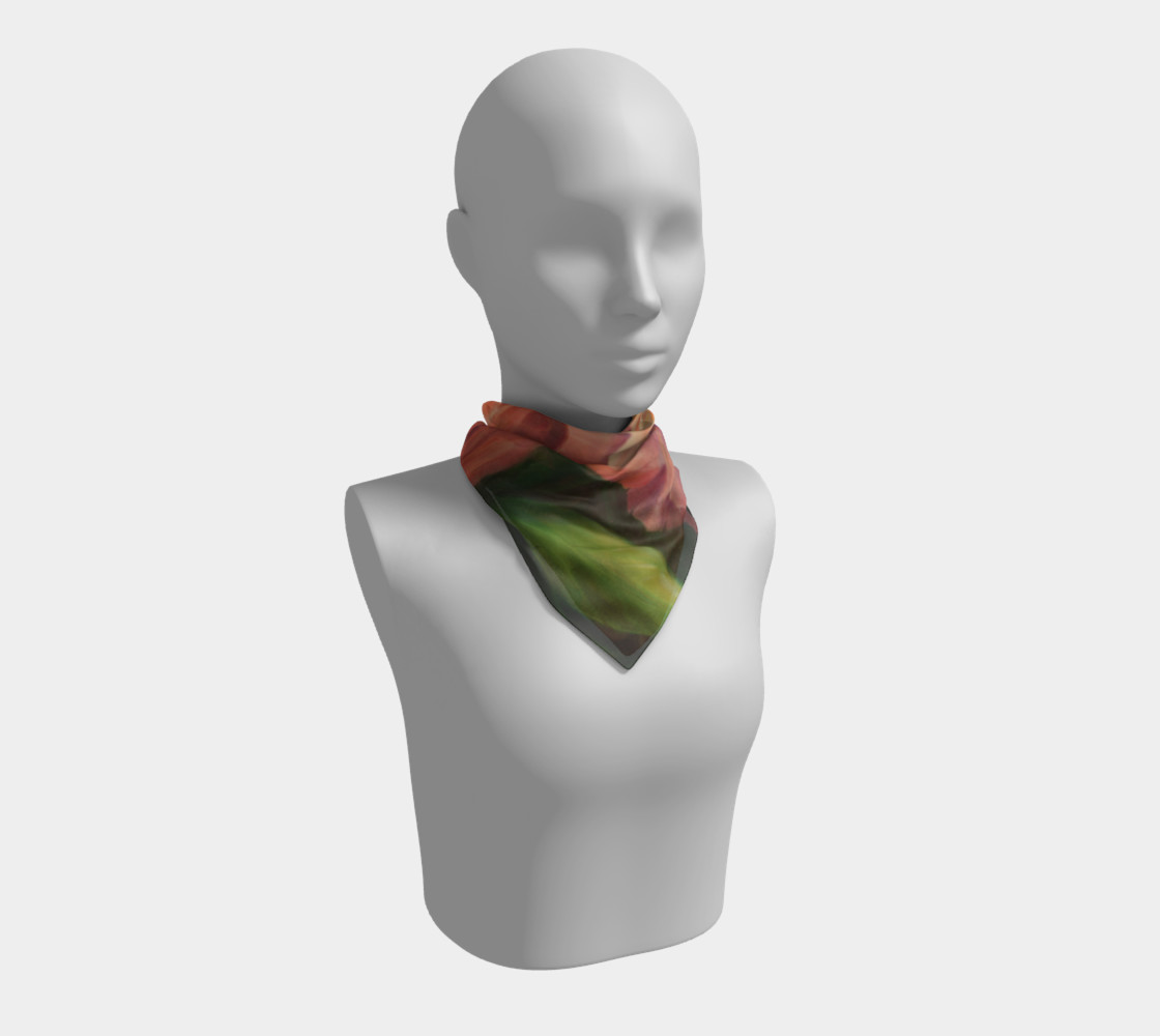 Spring Floral Square Scarf preview #1