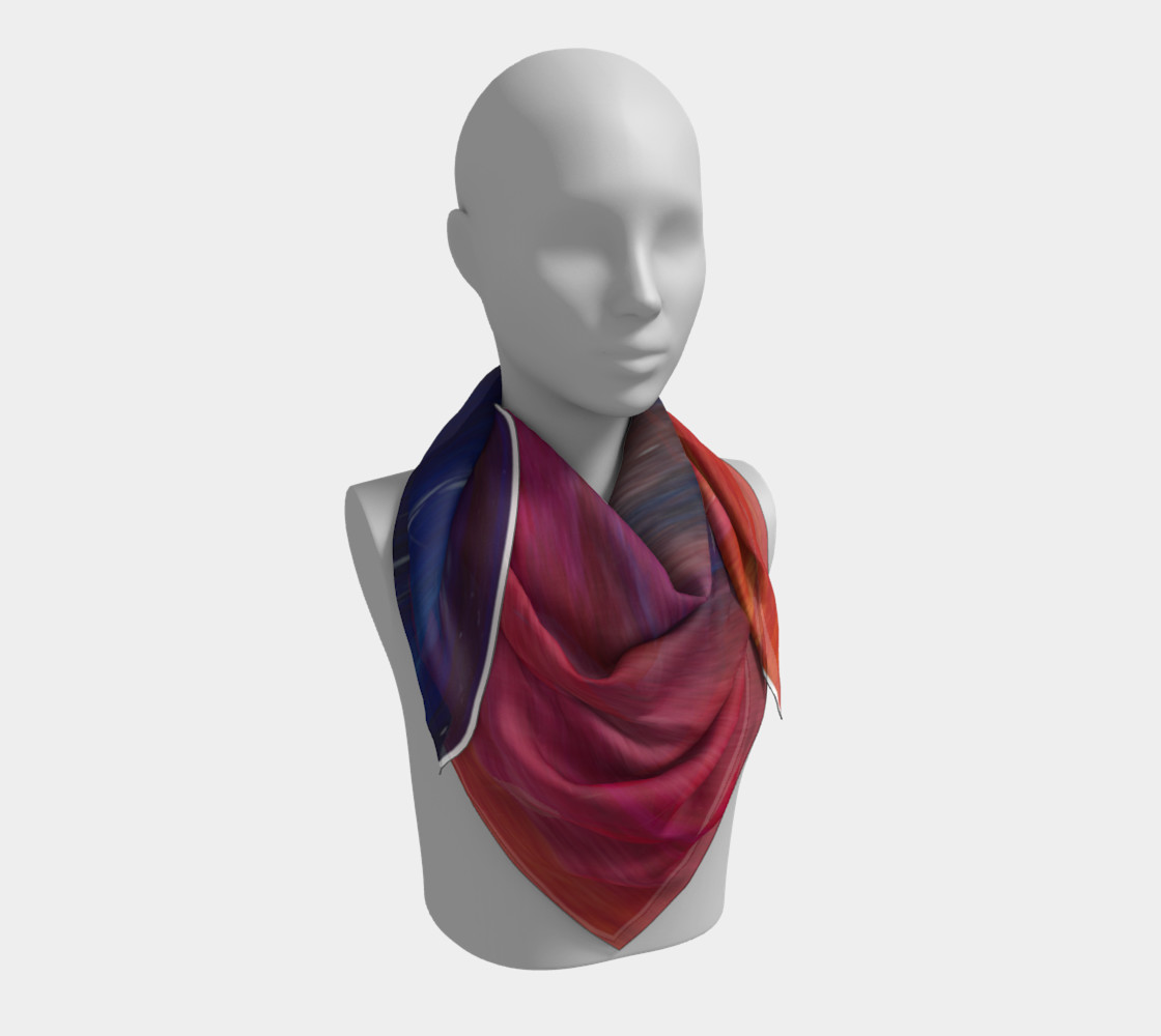 Perfect Mystery Square Scarf 3D preview