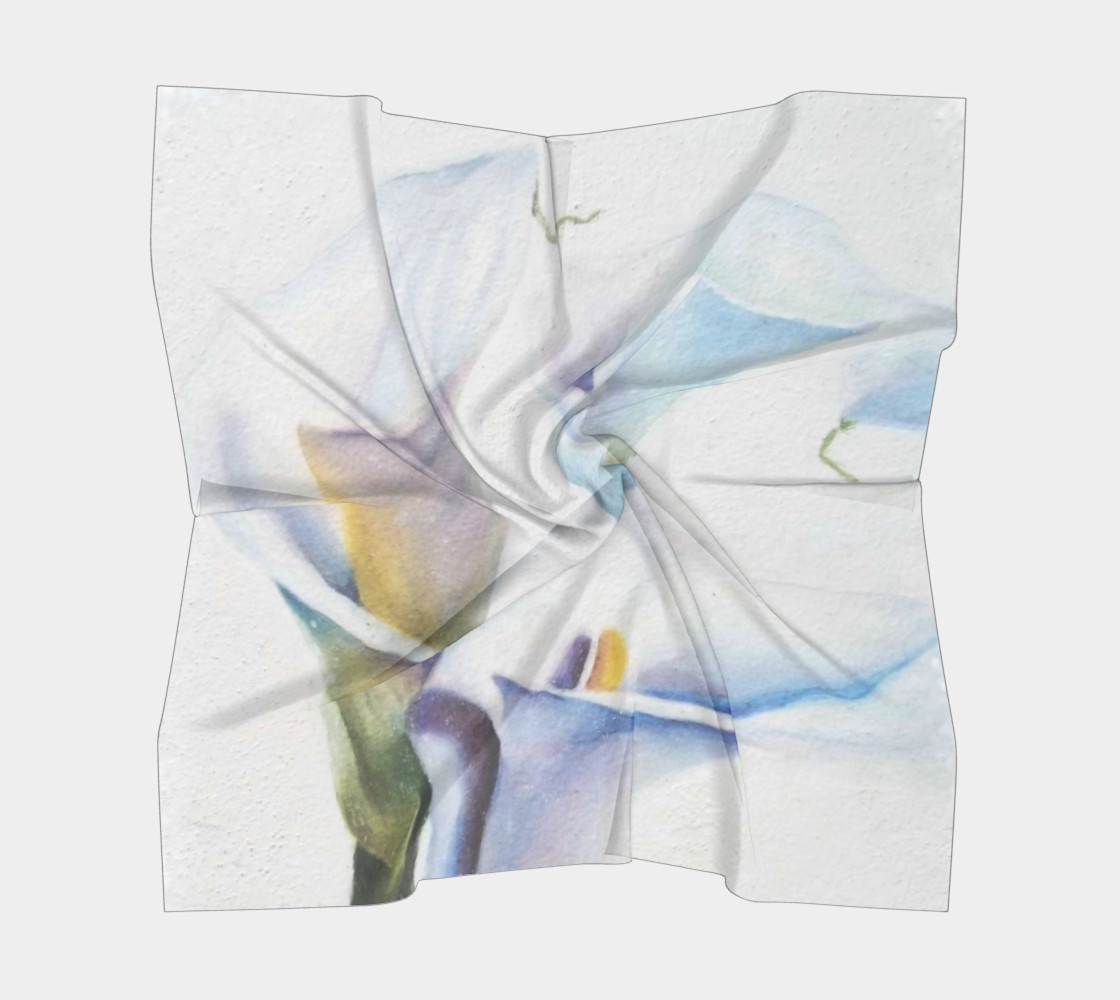 CALLA LILIES SCARF preview #5