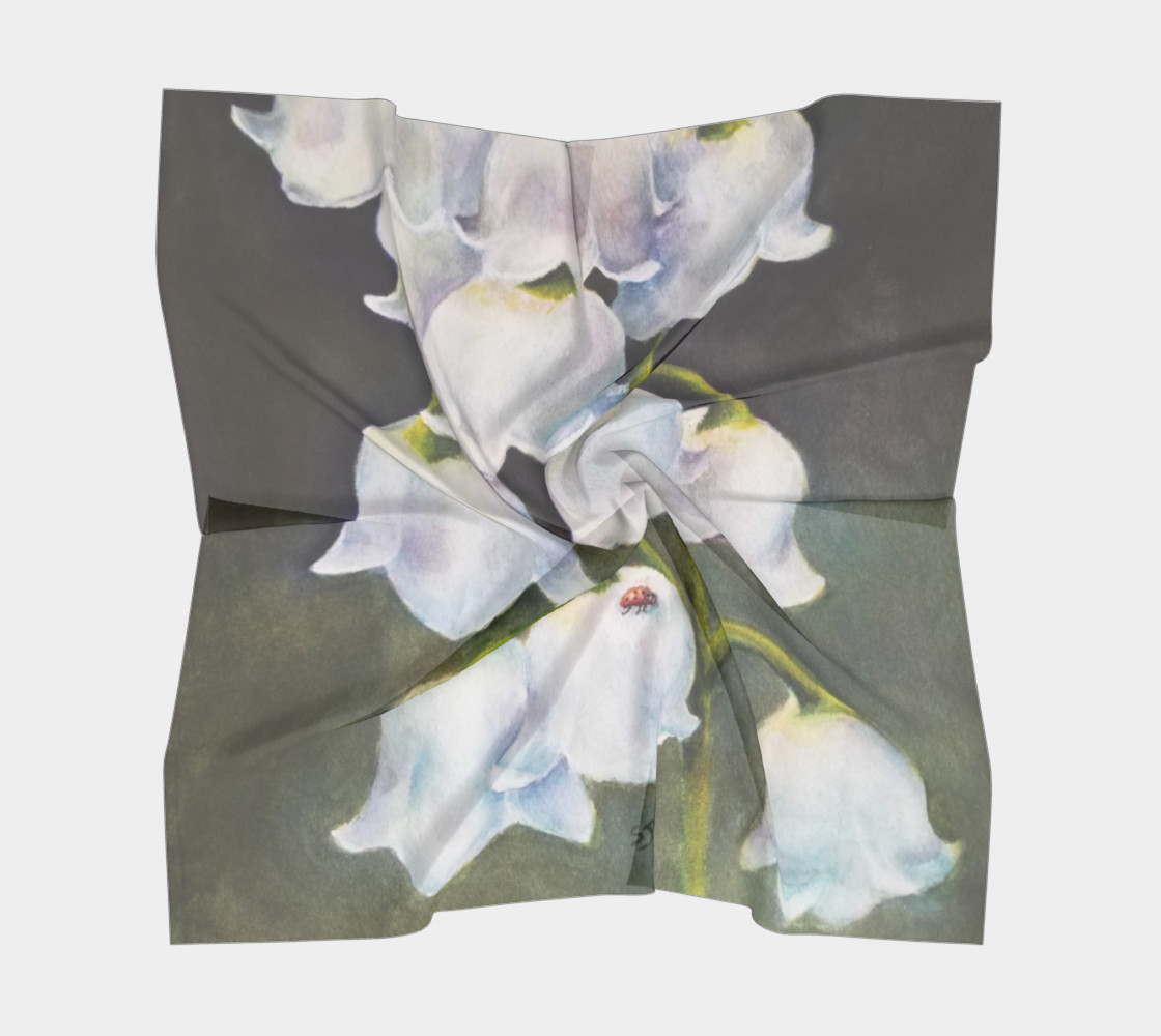 LILY of the VALLEY Scarf preview #5