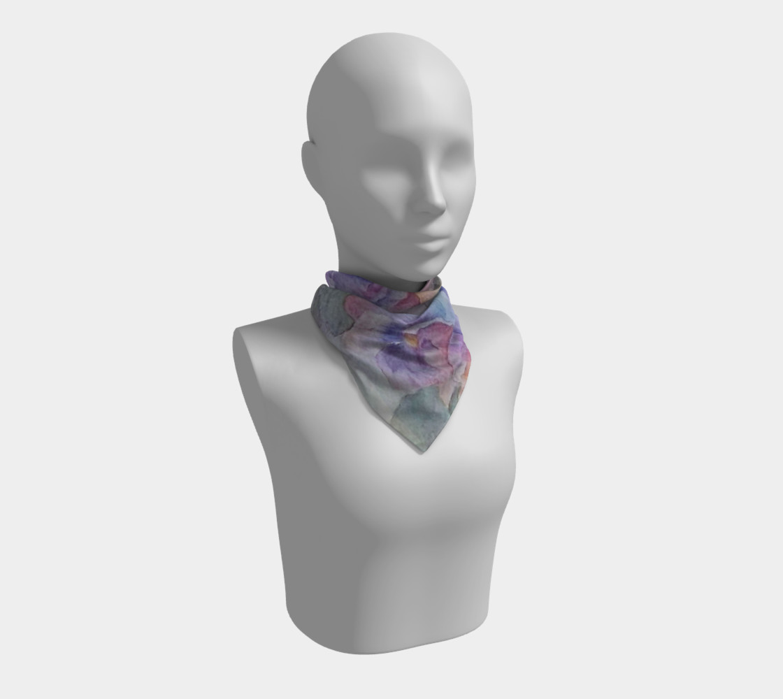 PANSY PARTY SCARF preview #1