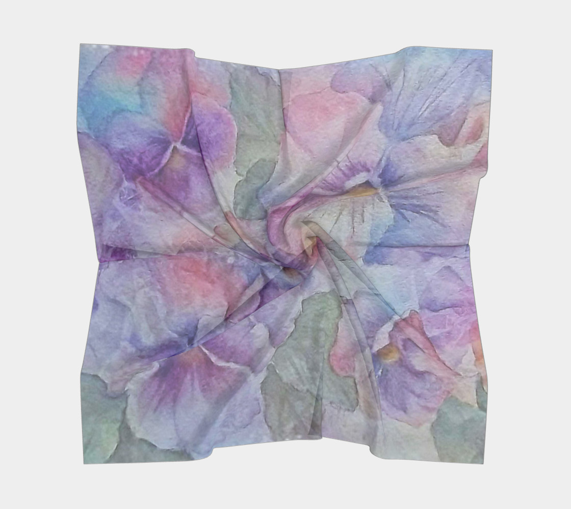 PANSY PARTY SCARF preview #5