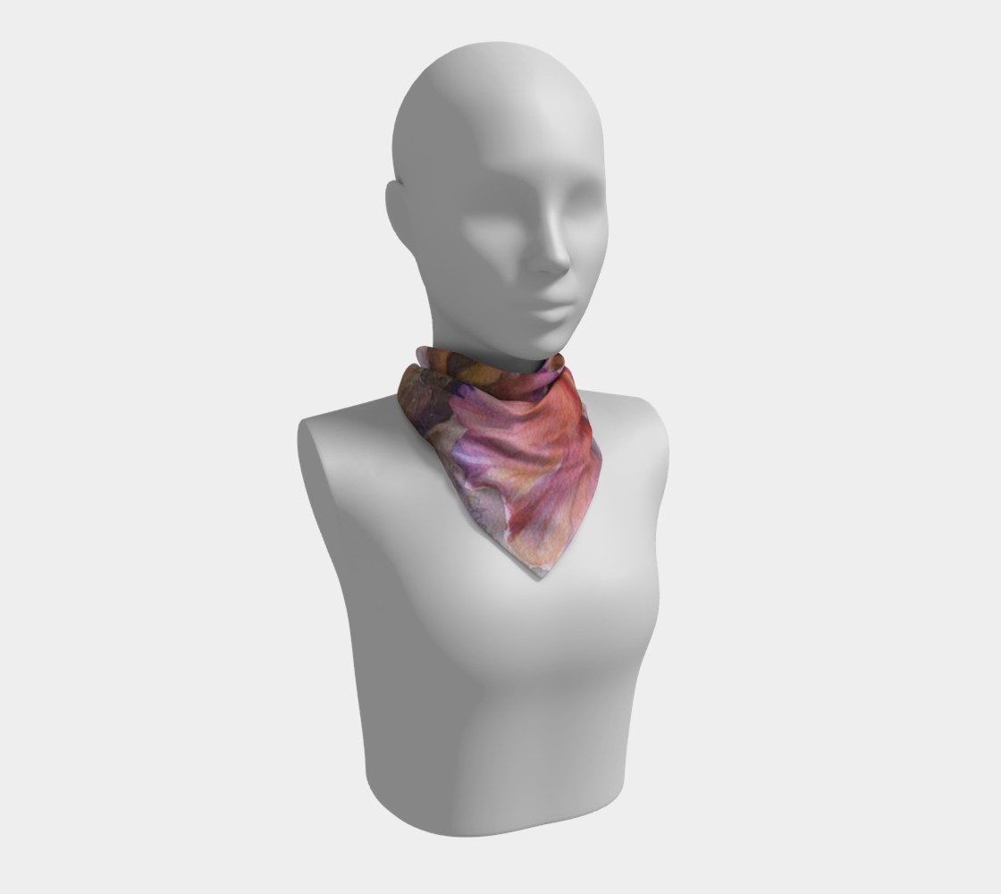 PINK IRIS SCARF preview #1