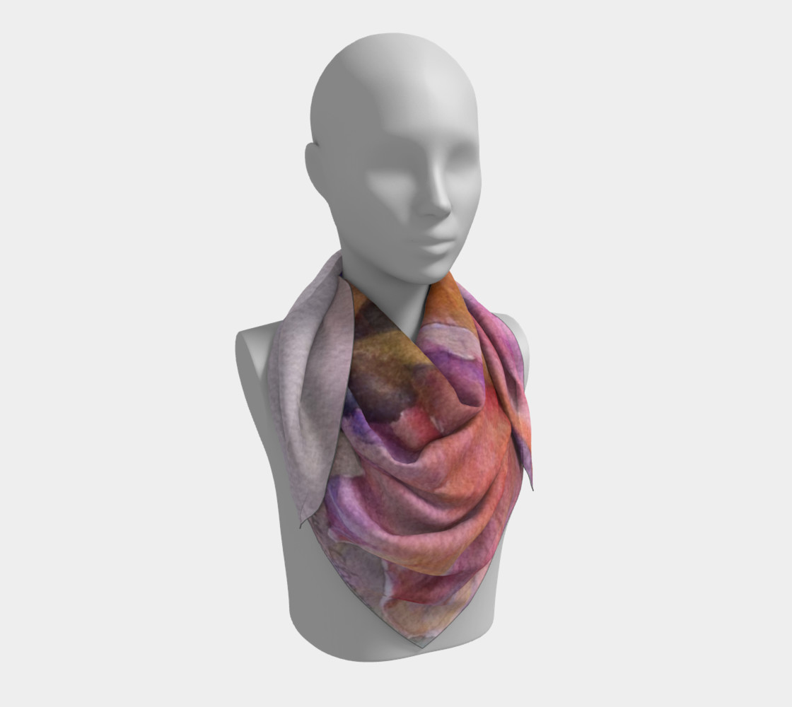 PINK IRIS SCARF preview #3