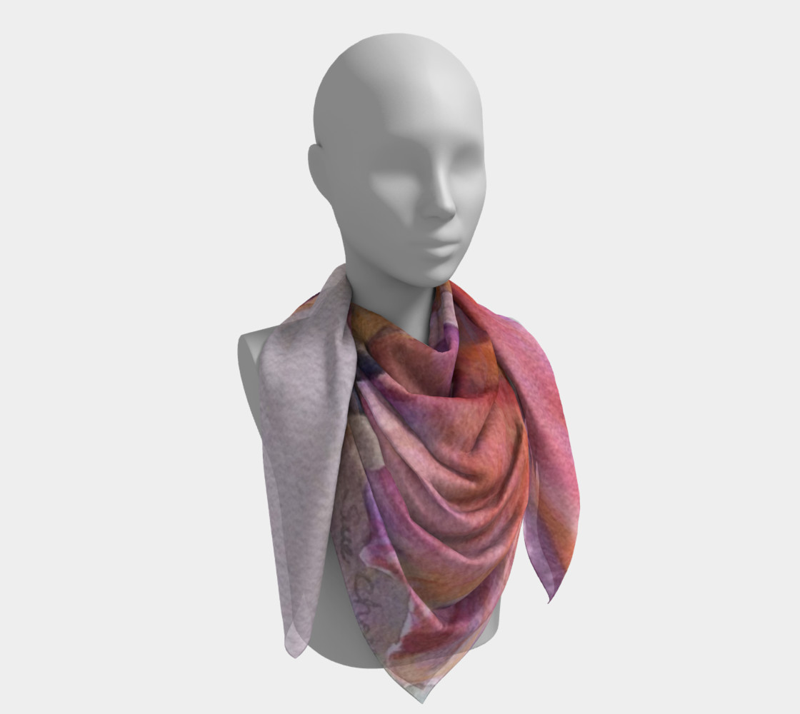 PINK IRIS SCARF preview #4