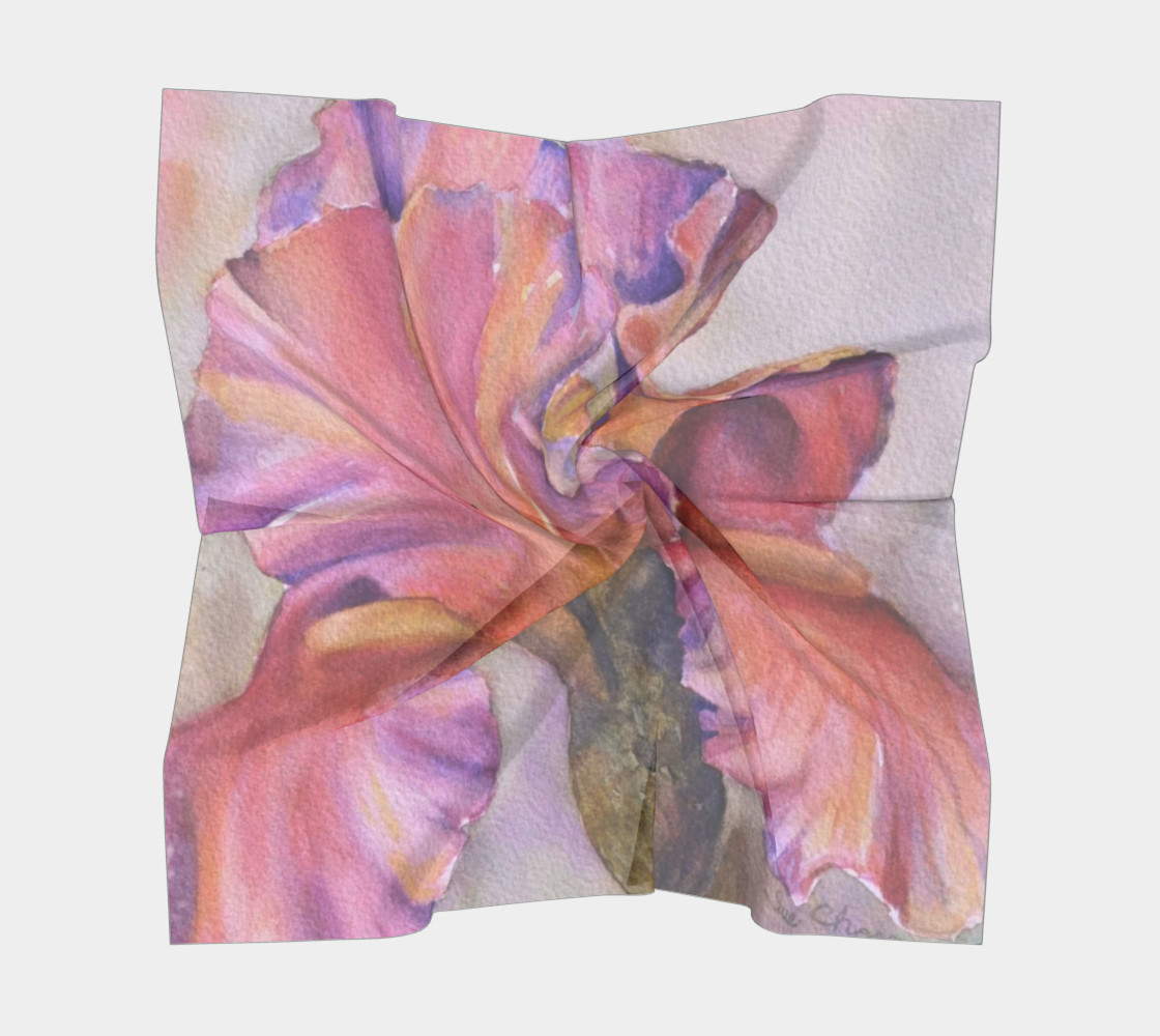PINK IRIS SCARF preview #5