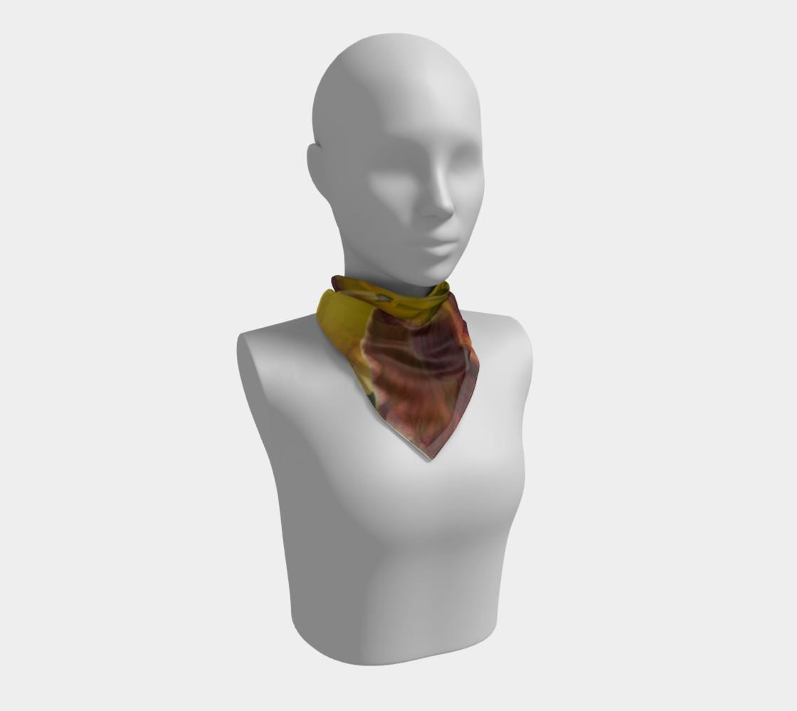 Daylily bitone scarf preview #1