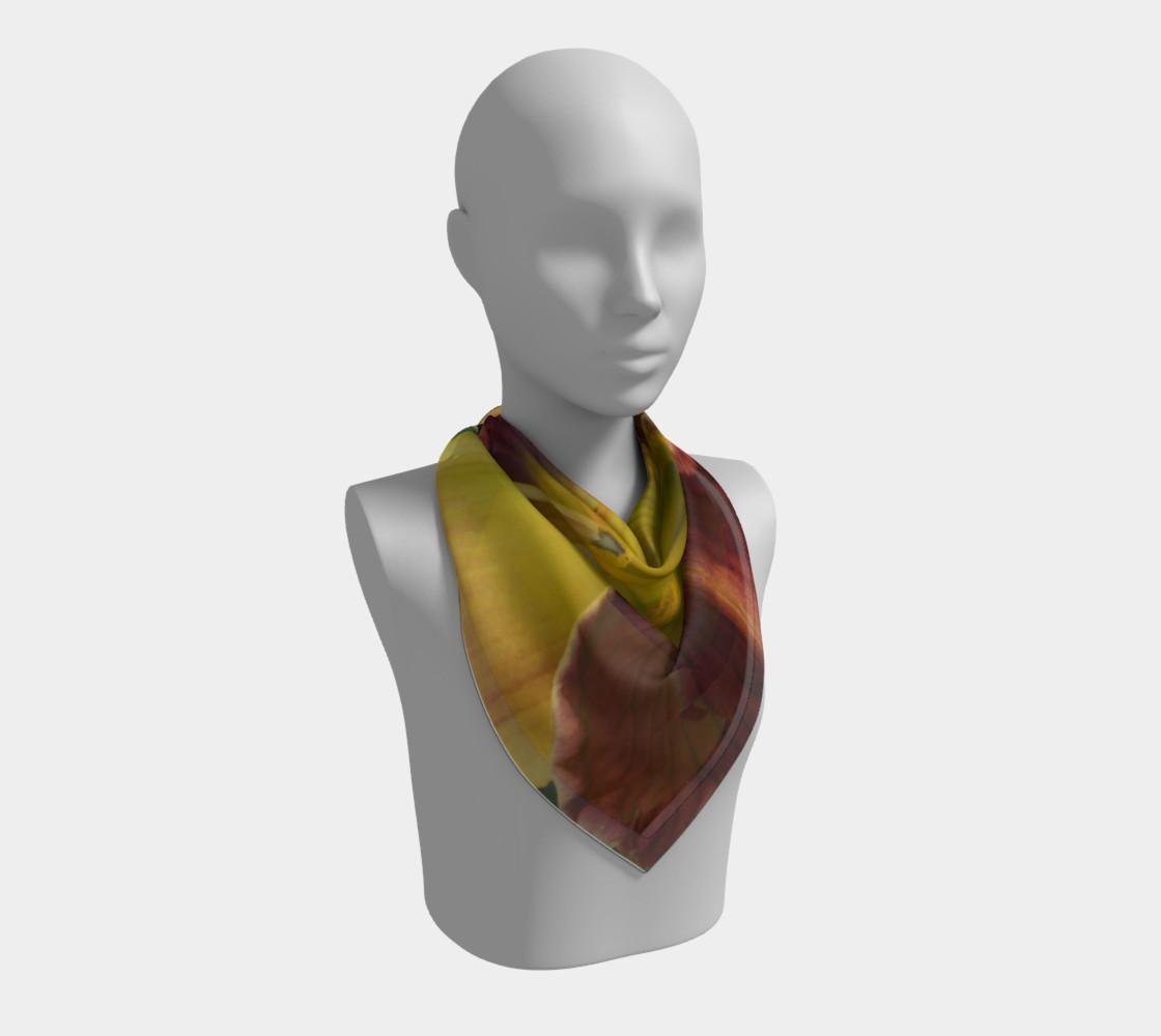 Daylily bitone scarf preview #2