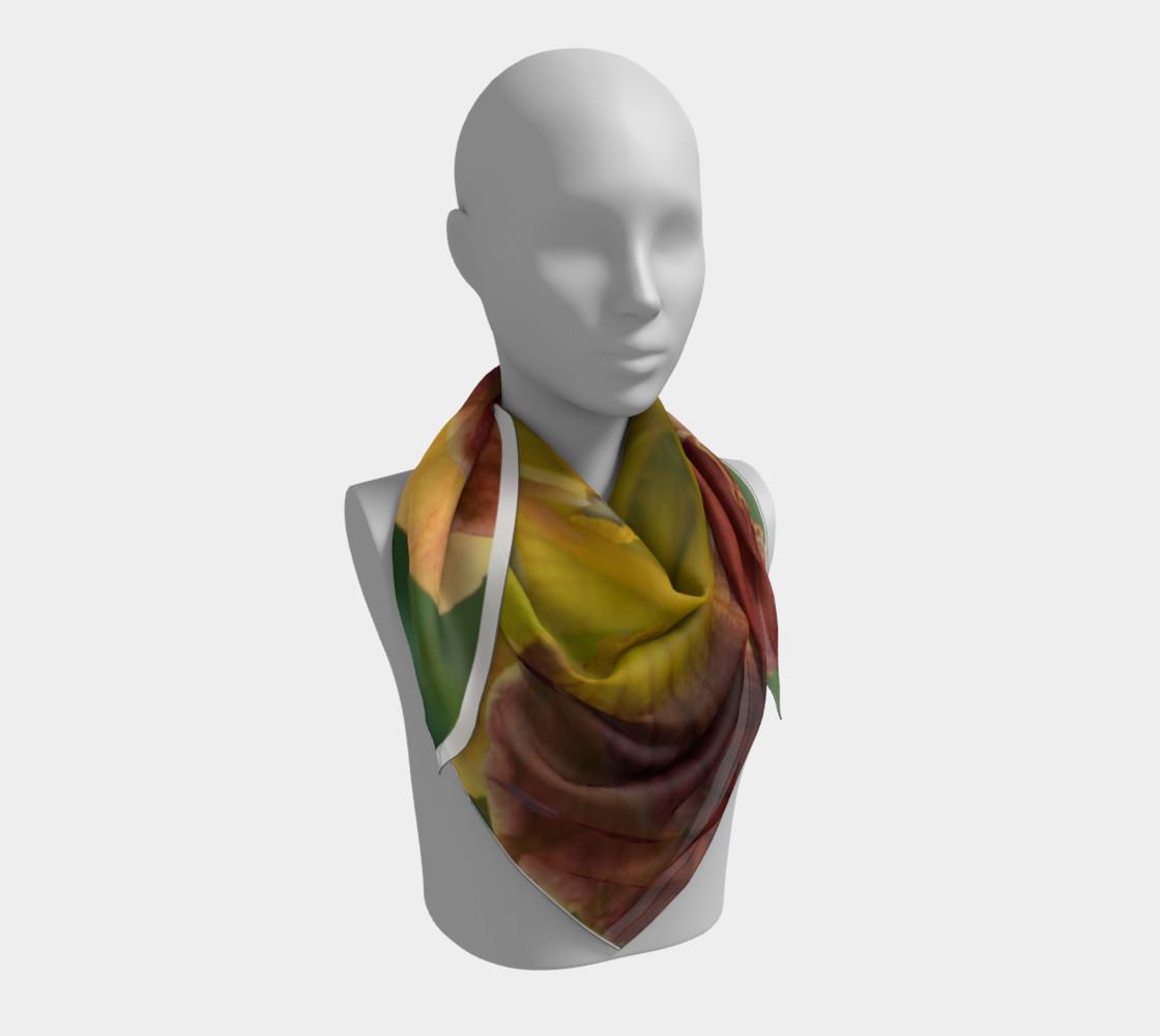 Daylily bitone scarf preview #3