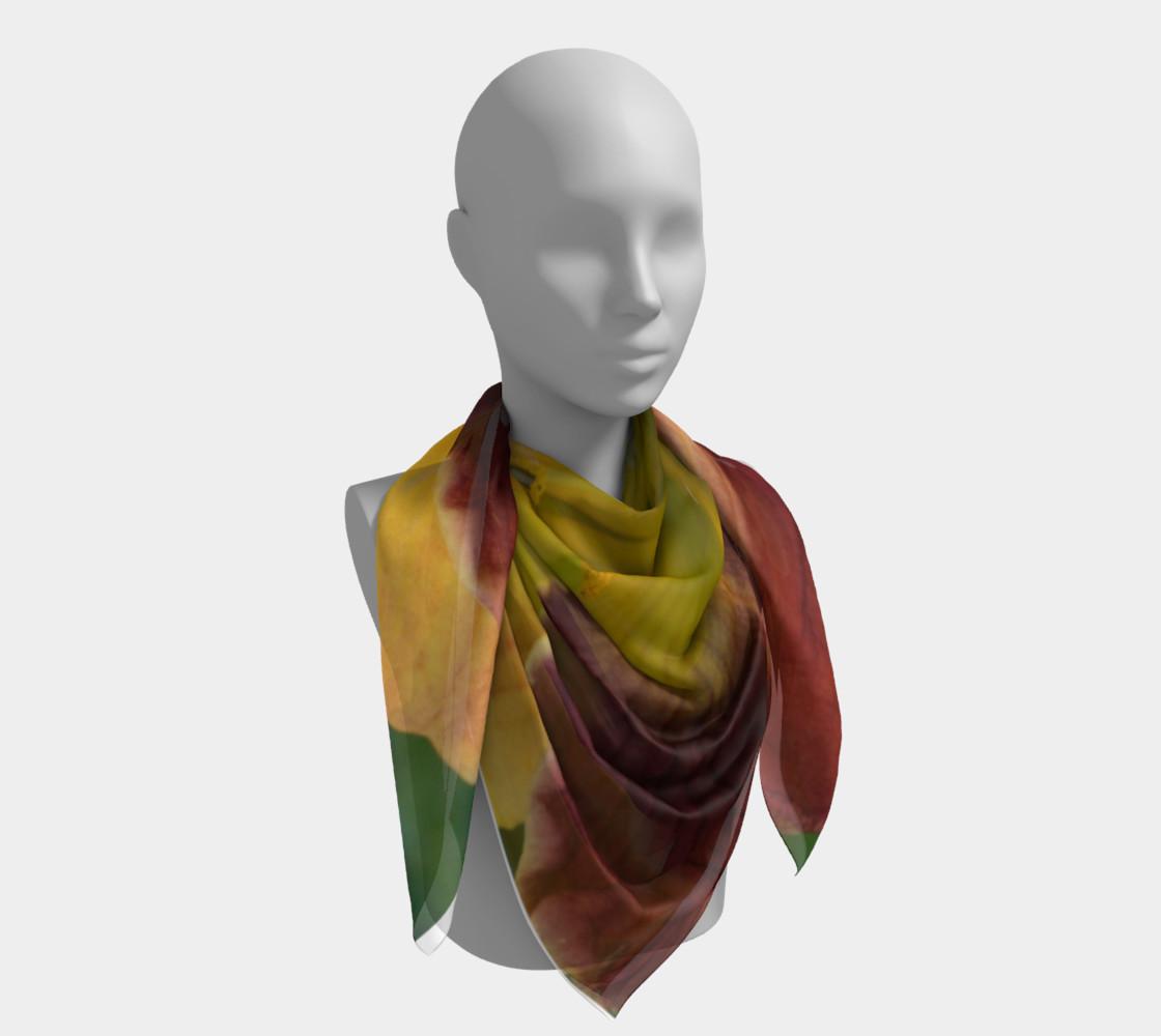 Daylily bitone scarf preview #4