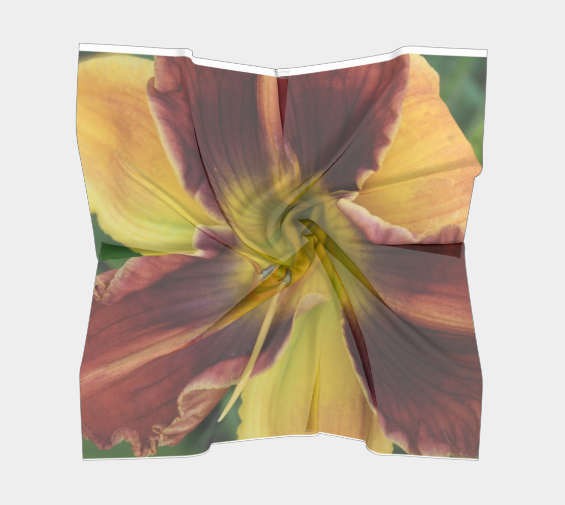 Daylily bitone scarf preview #5