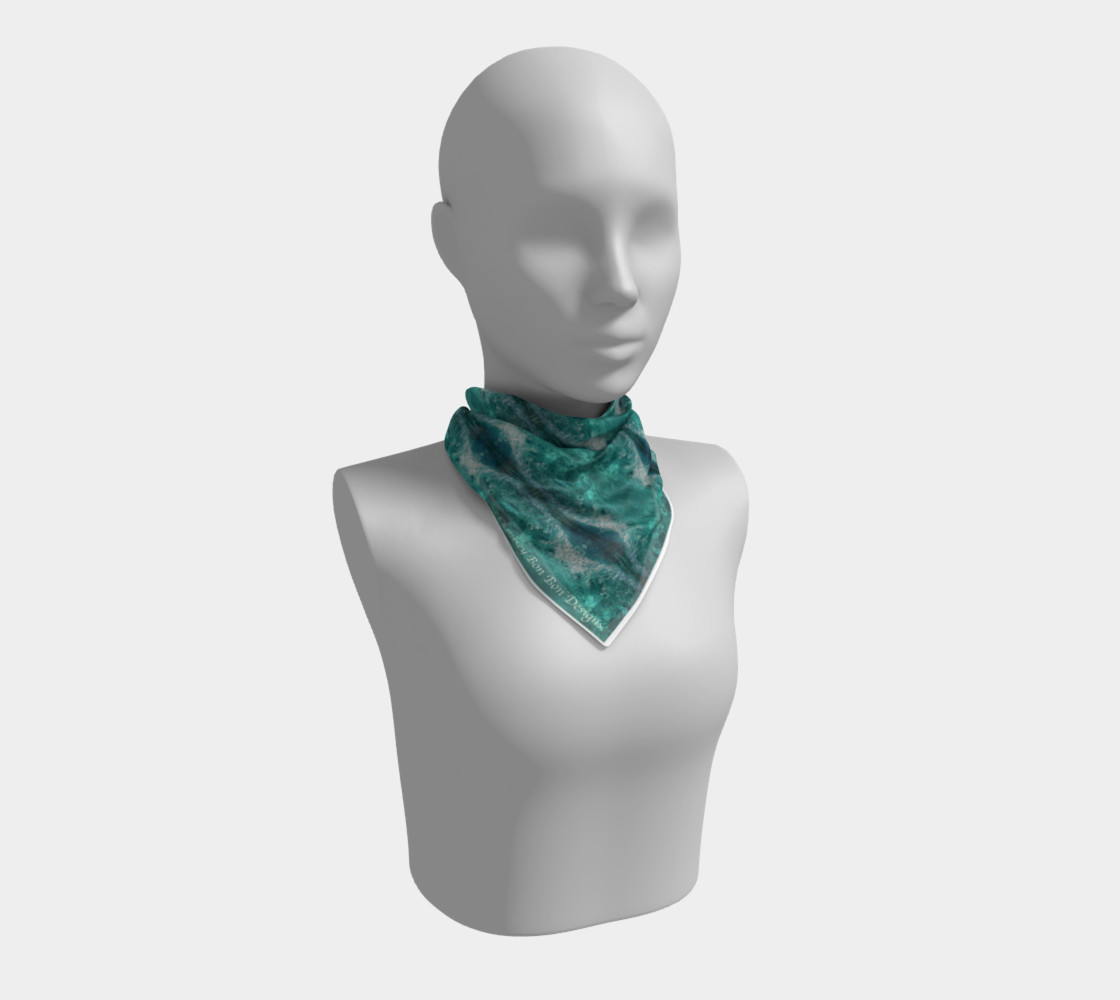 mandala#581#scarf#signed#150dpi preview #1