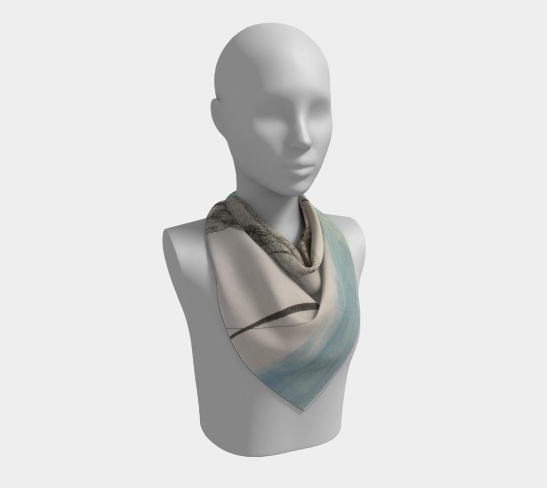 Aperçu de ocean current scarf #2