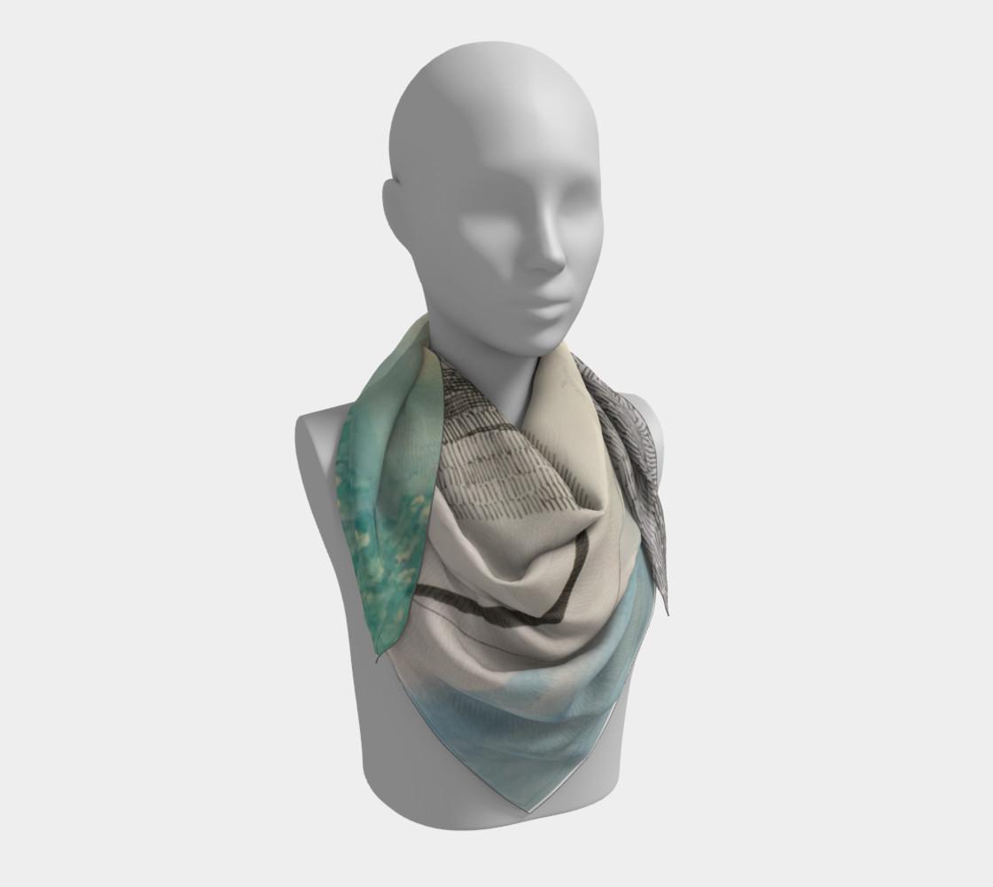 Aperçu de ocean current scarf #3