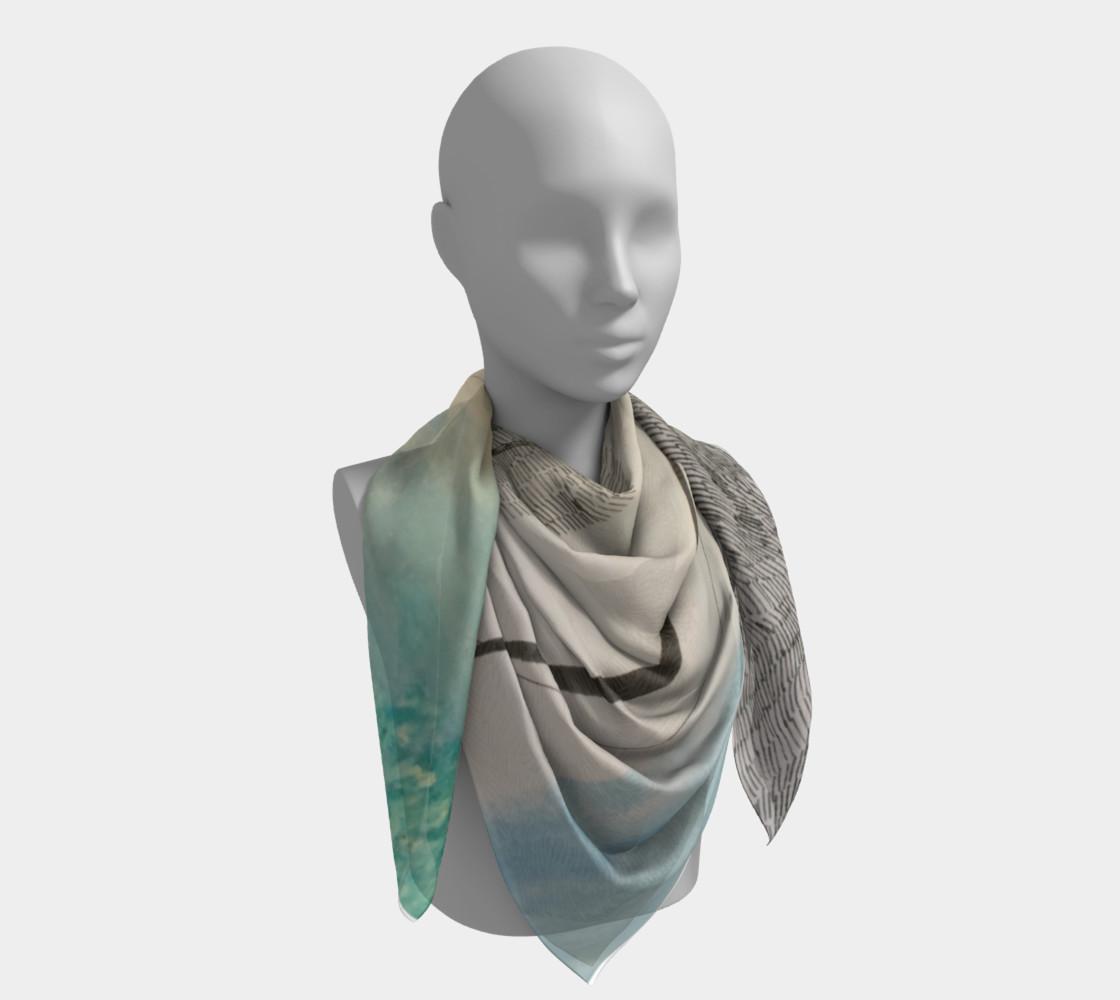Aperçu de ocean current scarf #4