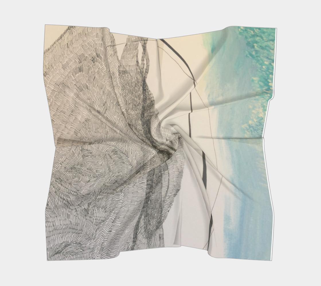 Aperçu de ocean current scarf #5
