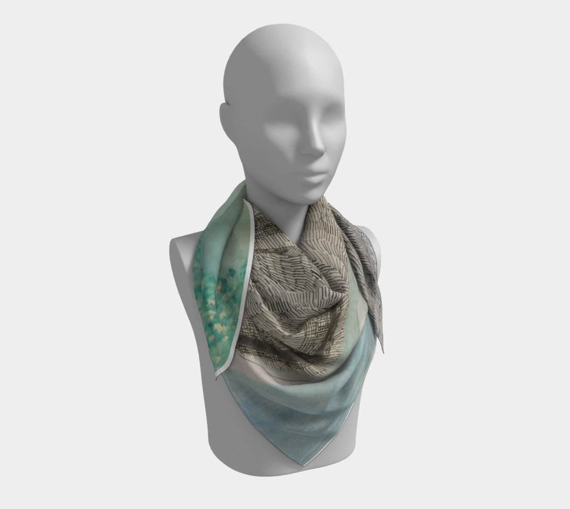 ocean deep scarf preview #3