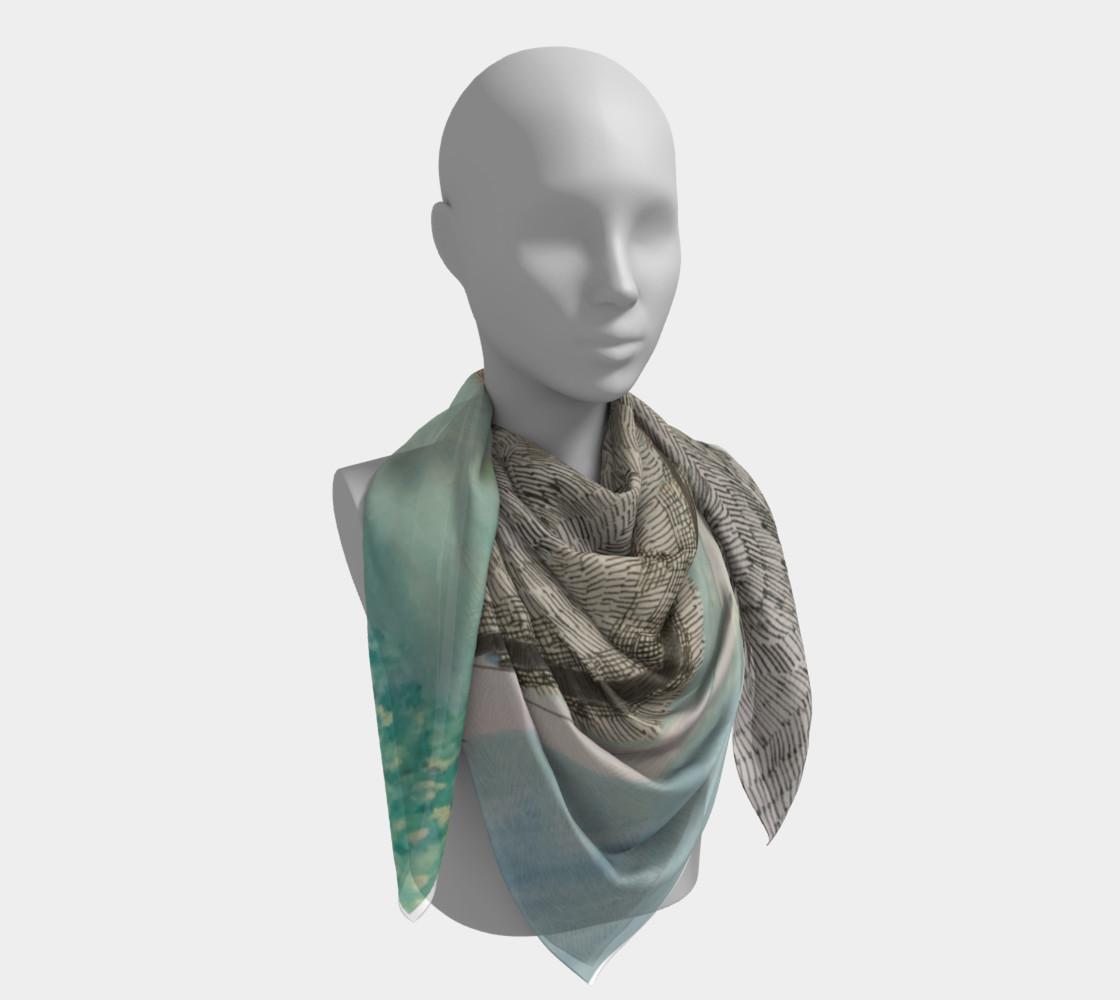 ocean deep scarf preview #4