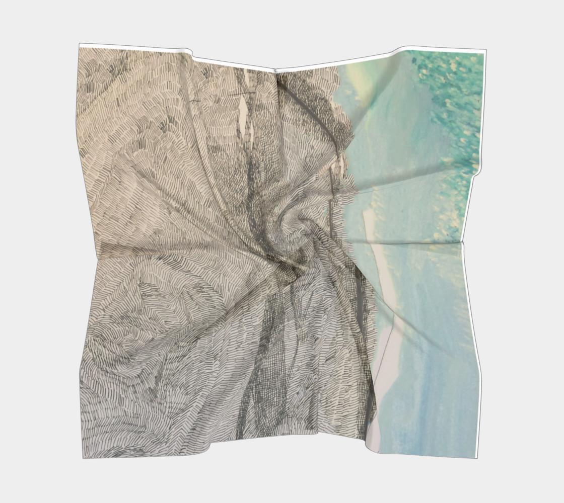 ocean deep scarf preview #5