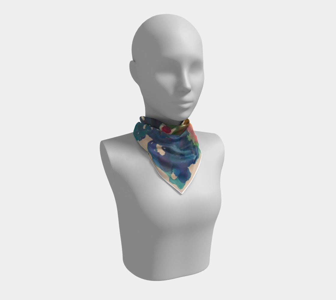 In Streams of Light Scarf preview #1