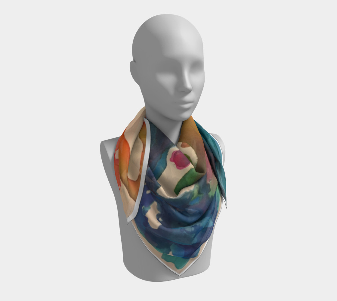 In Streams of Light Scarf preview #3