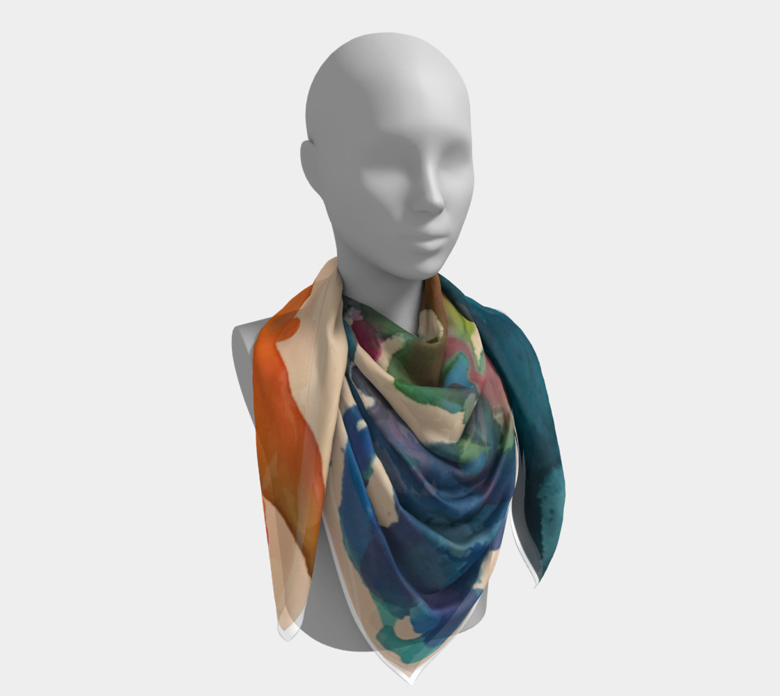 In Streams of Light Scarf preview #4
