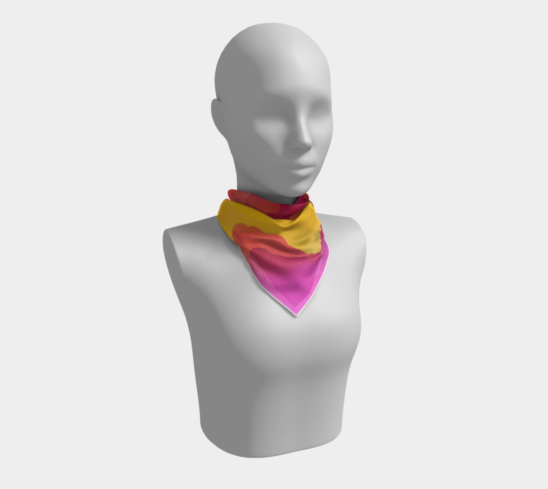 Aloha Summer Scarf preview #1