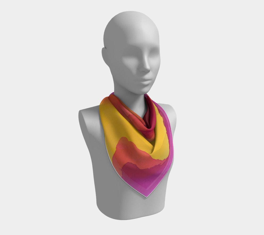Aloha Summer Scarf preview #2