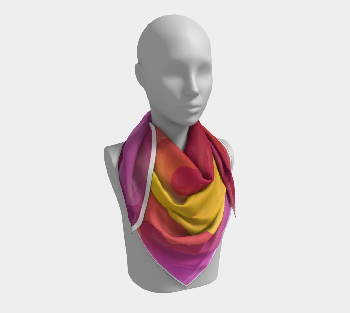 Aloha Summer Scarf preview #3