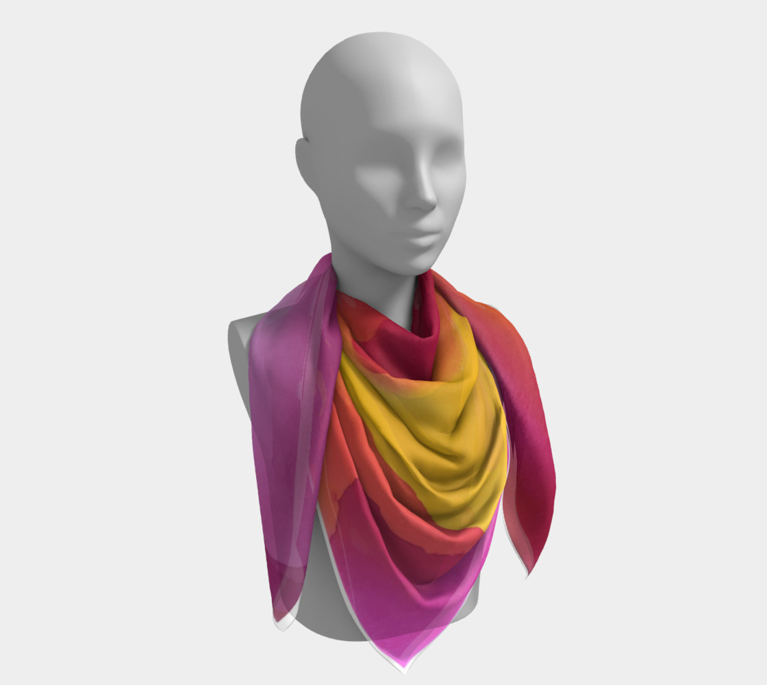 Aloha Summer Scarf preview #4