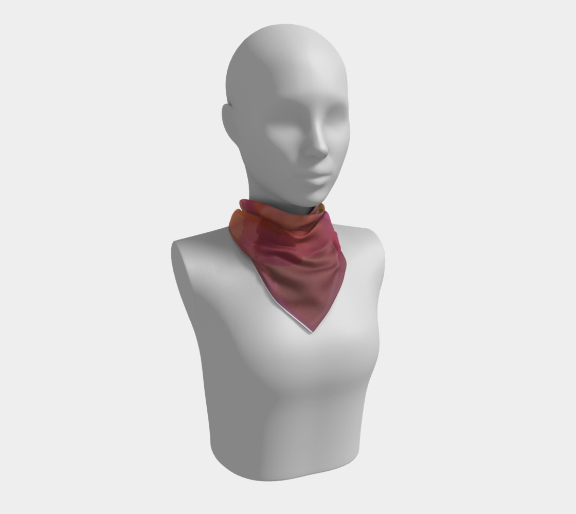 Orchid Flow Scarf preview #1