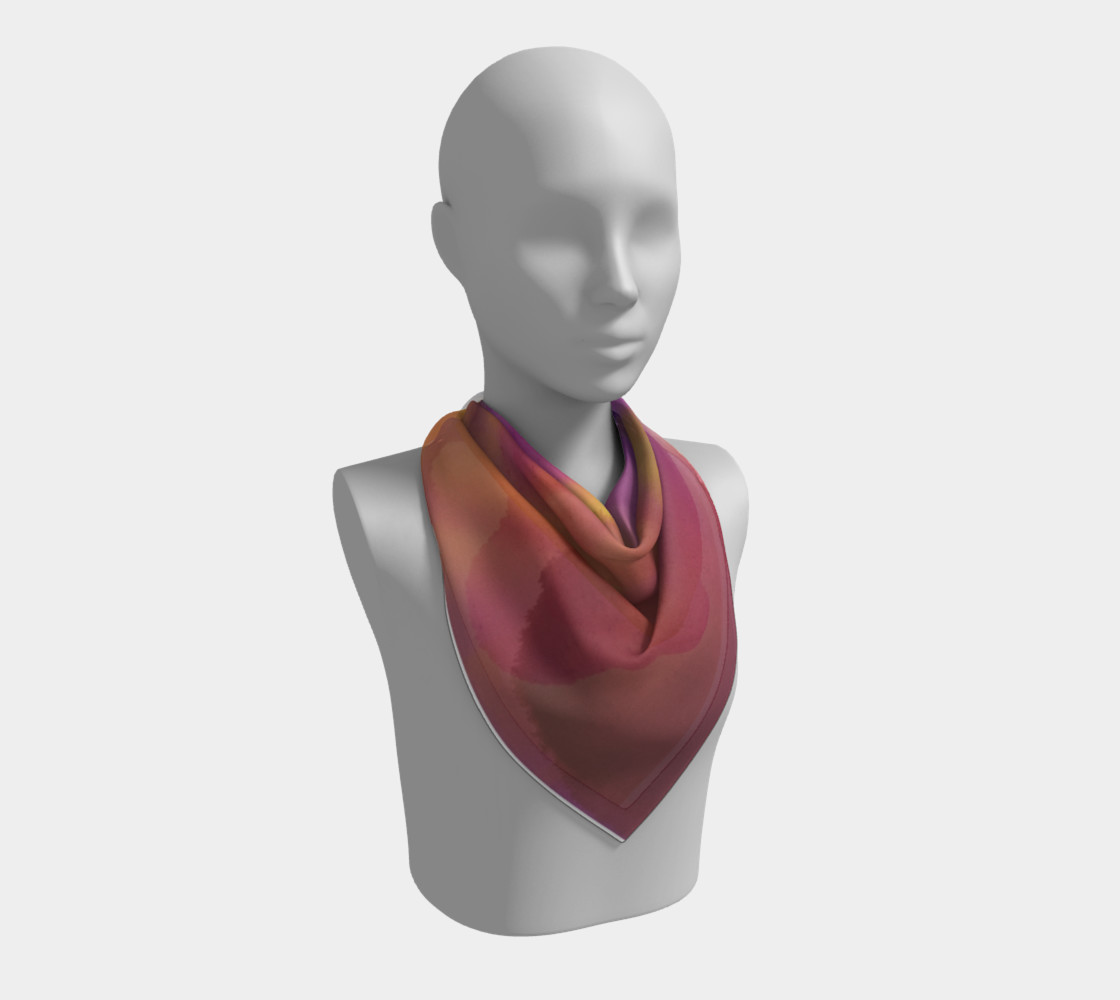 Orchid Flow Scarf preview #2